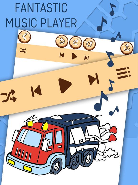 Автомобиль Раскраски Для Детей - Игра Покраска Скриншоты8