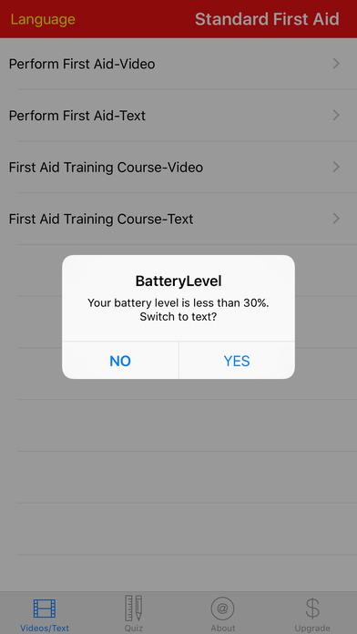 Standard First Aid Course Videos iPhone Screenshot 4