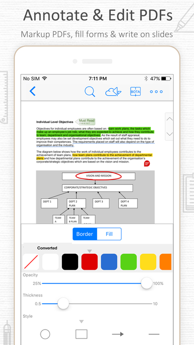 PDF Reader – Annotate, Scan and Sign PDF Documents Screenshots