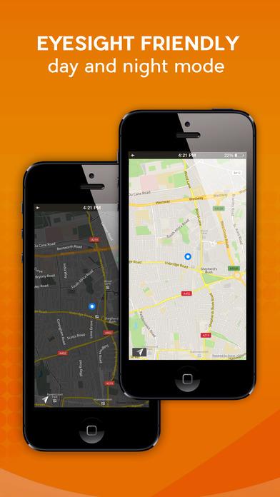 Spain - Offline Car GPS screenshot 2