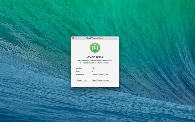 VMware Tunnel for Mac