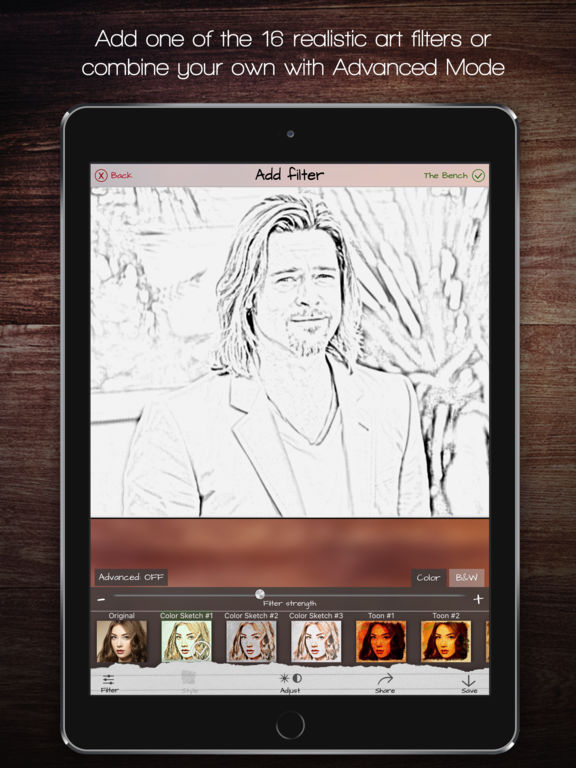 Sketch Bench - Mockup Scene Creator Screenshots