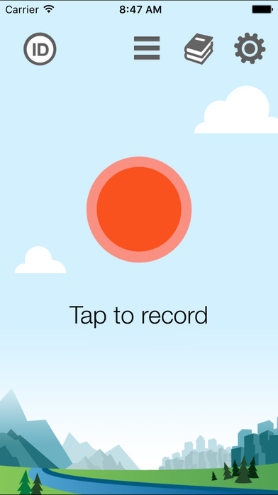 ChirpOMatic UK, Automatic Bird Song Recognition v2 Screenshot