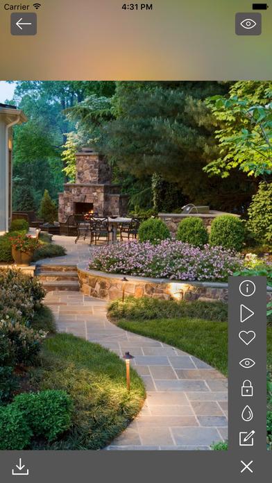 Yard and garden design ideas gardening ideas app for Garden design app for pc