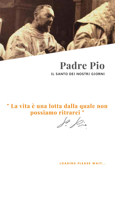 Padre Pio iPhone Screenshot 1