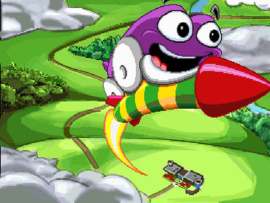 Скачать игру Putt-Putt Goes to the Moon