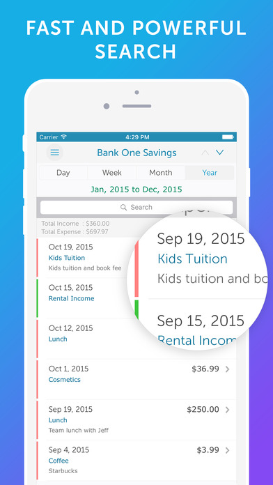 Screenshot #7 for Easy Spending - Money Tracker & Budget Planner