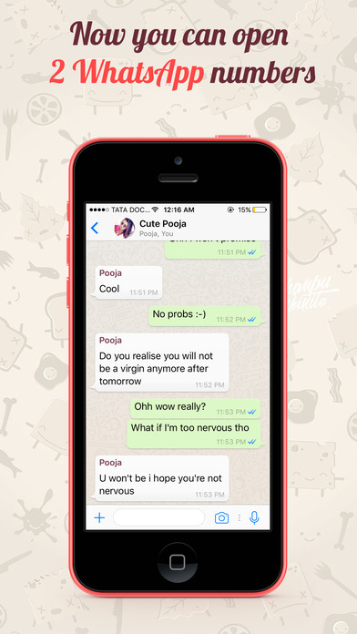 how to take screenshot of whatsapp chat on iphone