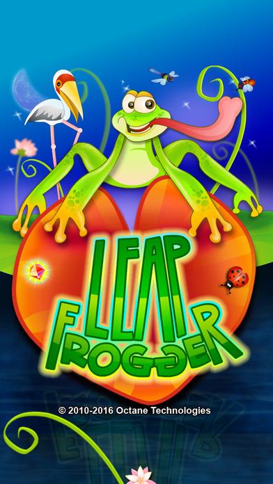 Leap Frogger HD iPhone Screenshot 1