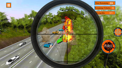 Traffic Shooter screenshot 1