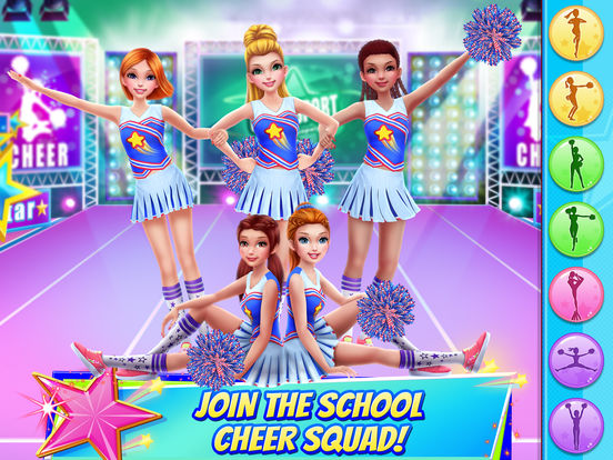 Cheerleader Dance Off - Squad of Champions iPad