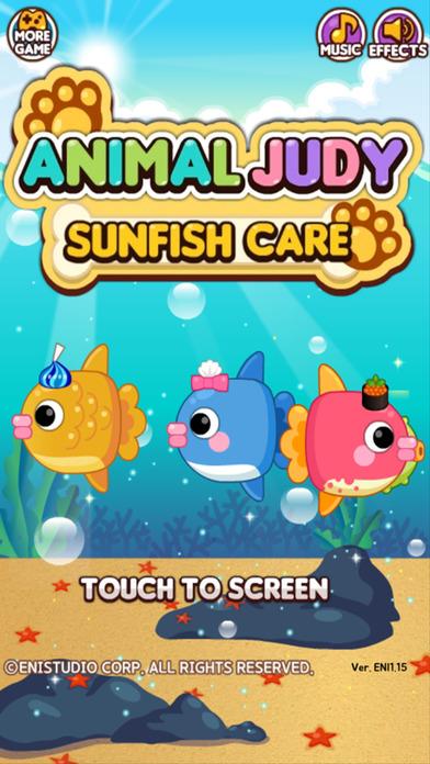 Animal Judy: Sunfish care screenshot 1