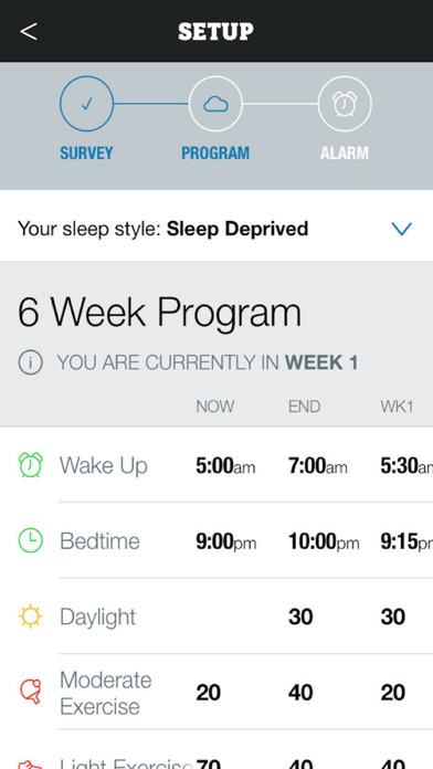 Recharge - Move Well, Sleep Well, Be Well Screenshot