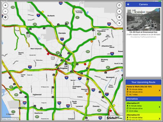 Sigalert.com - Live traffic reports iPad Screenshot 3