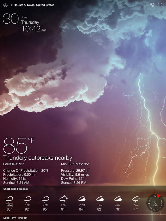 Screenshot #2 for Weather Live Free - Weather Forecast & Alerts