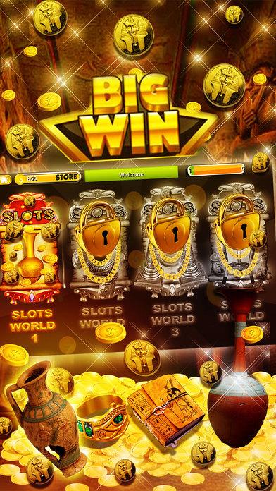 Screenshot 3 King of the Nile Slots – Best Pharaoh's Free Slot