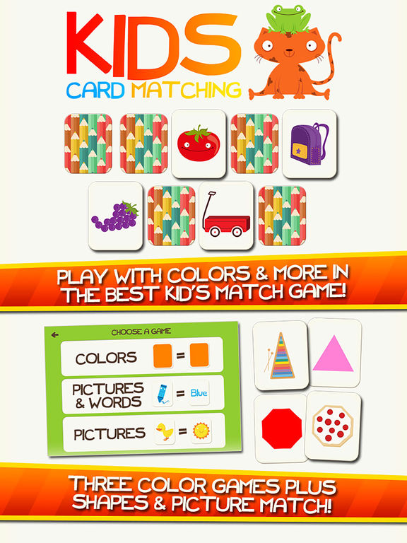 Learn Colors App Shapes Preschool Games for Kids Screenshots