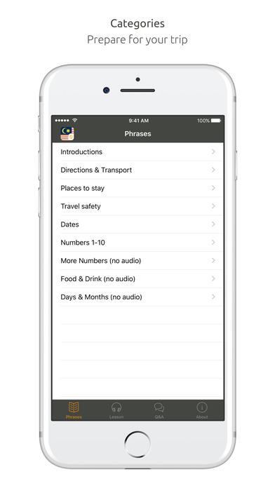 World Nomads Malay Language Guide iPhone Screenshot 1