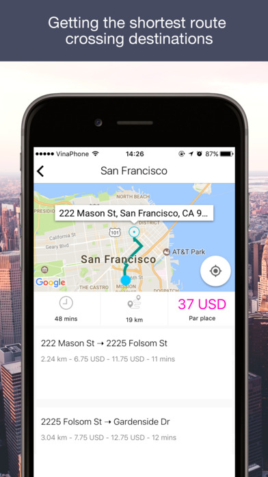 Fare Estimate for Lyft Taxi on the App Store