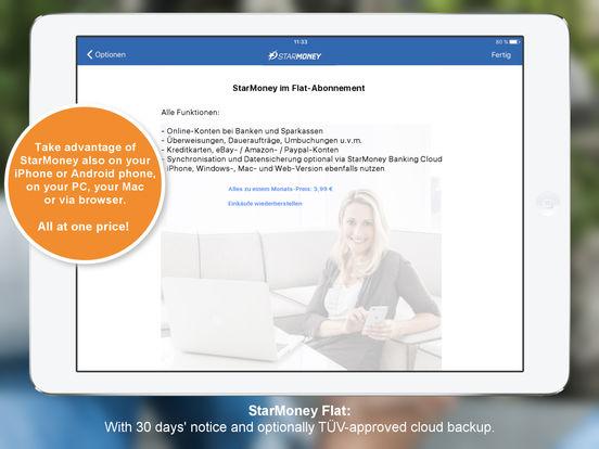 StarMoney für iPad - Mobile Banking für Banken und Sparkassen iPad Screenshot 5