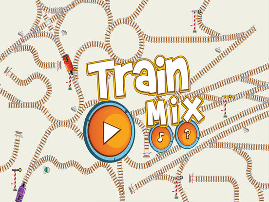 Игра Train Mix логическая головоломка-пасьянс