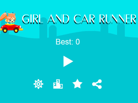 Girl And Car Runner Pro Screenshots