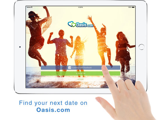 Oasis dating mobile app