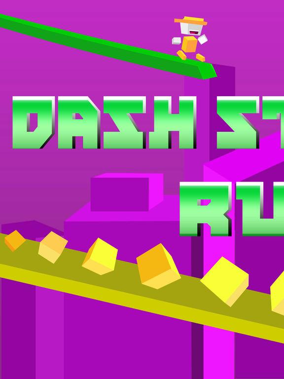 Screenshot #1 for Dash Striker Run - Tiny Switch Chameleon Color