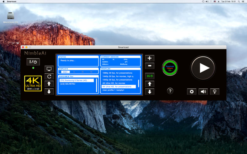 Smartcast ULTRA HD for Samsung & LG TV for Mac