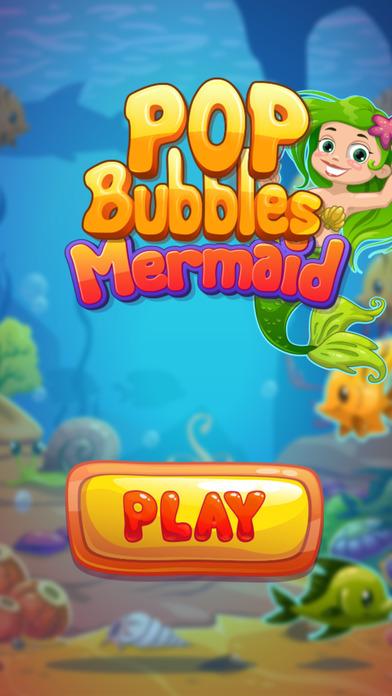 POP Mermaid 3 Bubble Shooter - Popping Bubbles screenshot 1