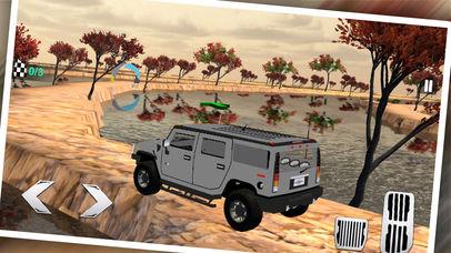 Uphill 4x4 Jeep Driving 3d screenshot 2