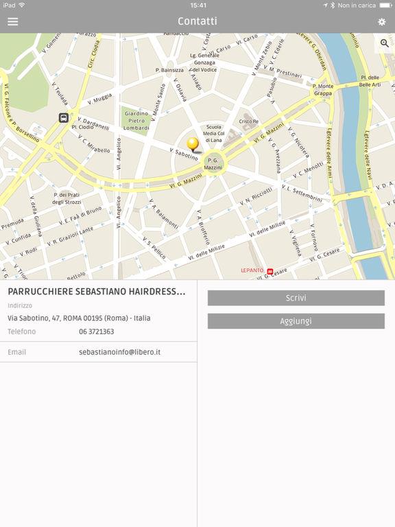 App shopper sebastiano hairdresser catalogs for Albanesi arredamenti