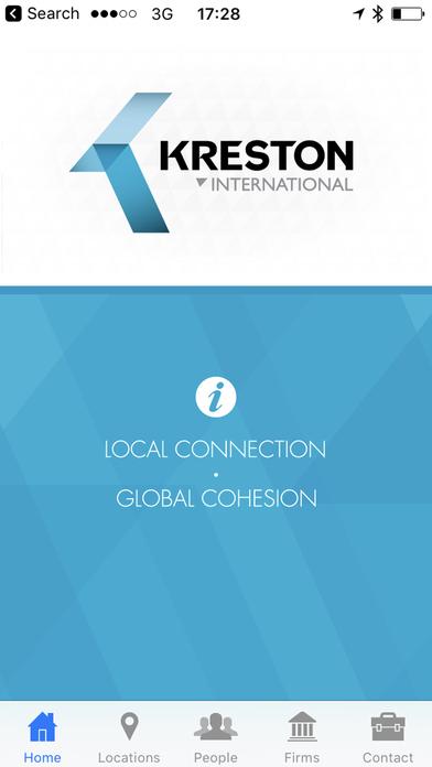Kreston International - Member Directory, a global network of independent accounting firms iPhone Screenshot 2