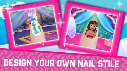 Magic nail Salon - Kids Hero screenshot 2