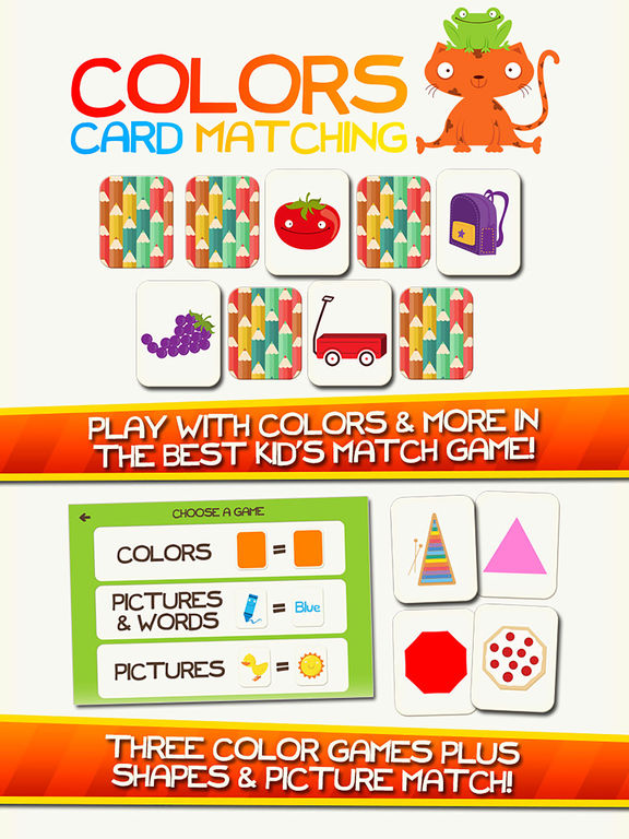 Learn Colors Shapes Preschool Games for Kids Gamesscreeshot 1