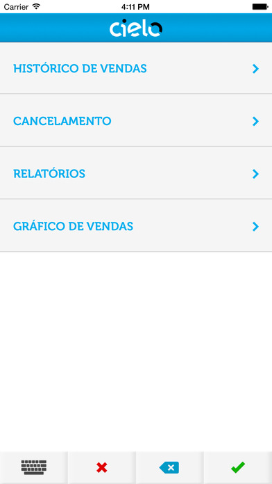 Cielo Mobile iPhone Screenshot 4