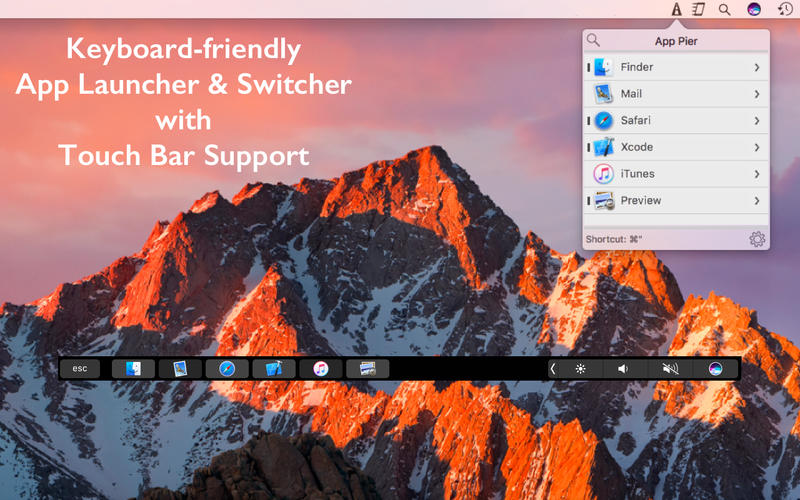 App Pier for Mac 1.6 激活版 - 键盘快捷键