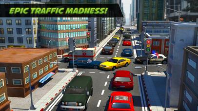 City Traffic Control Rush Hour Driving Simulator screenshot 1