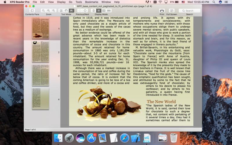 free xps to pdf mac