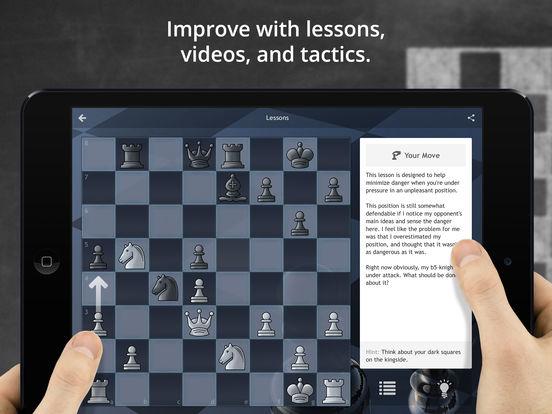 Chess.com - Play & Study Chess iPad Screenshot 3