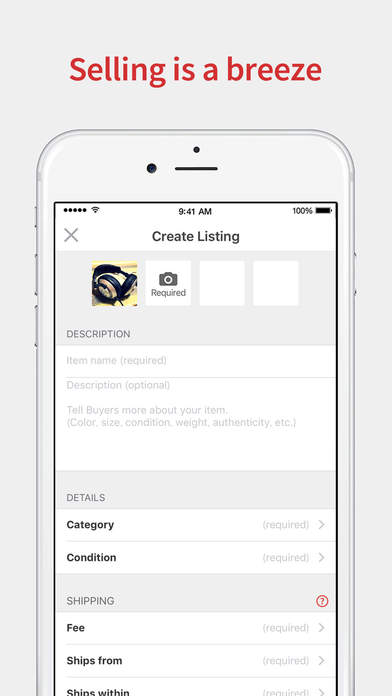 Mercari Shopping Marketplace To Buy Sell Stuff Screenshot