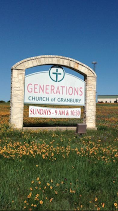 Generations Church of Granbury iPhone Screenshot 1