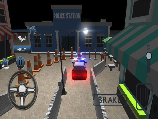 Modern Police Car Parking Simulator Pro screenshot 6