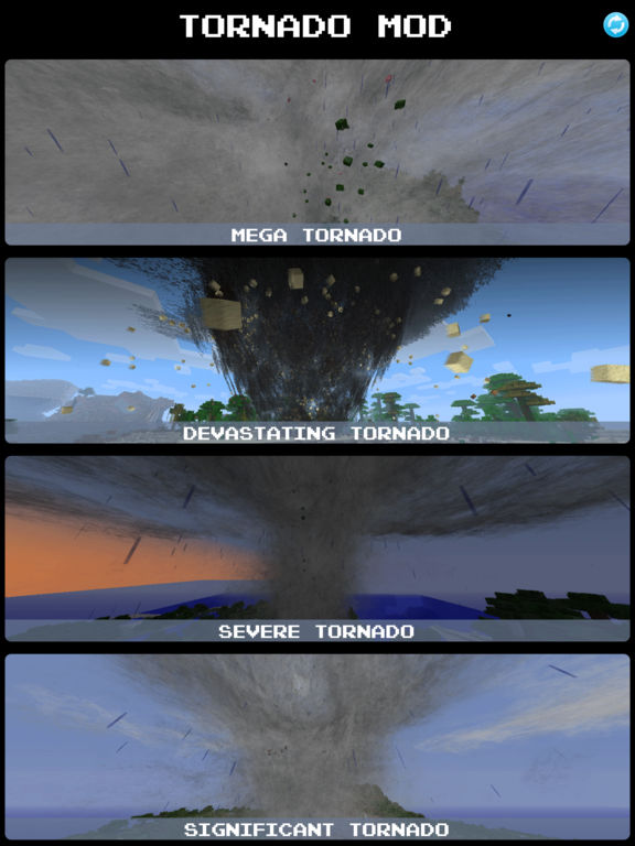 how to make a tornado in minecraft pc