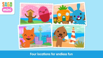 Sago Mini Town app image