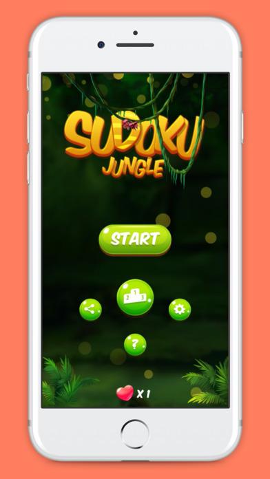 Sudoku Jungle screenshot