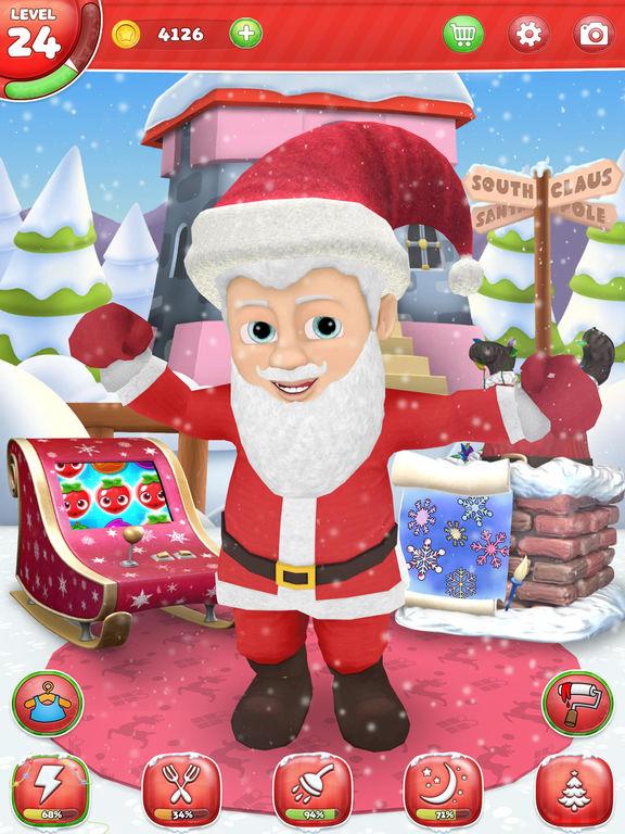 My santa claus christmas games for kids apprecs