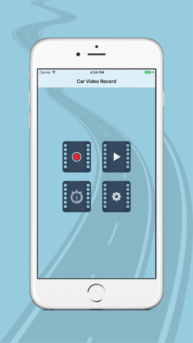 Car Video Record Screenshots