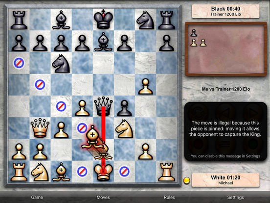 Chess Pro - with coachscreeshot 3