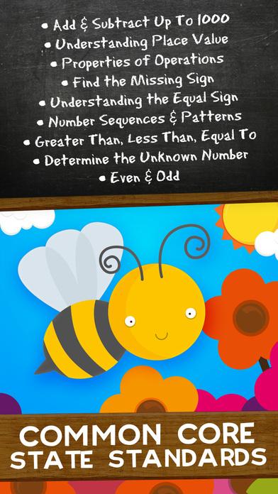 Animal Math Second Grade Math Games for Kids Math Screenshots